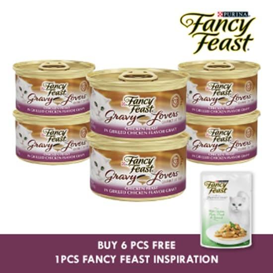 harga Fancy feast gravy lovers chicken feast 85gr - 6pcs Tokopedia.com