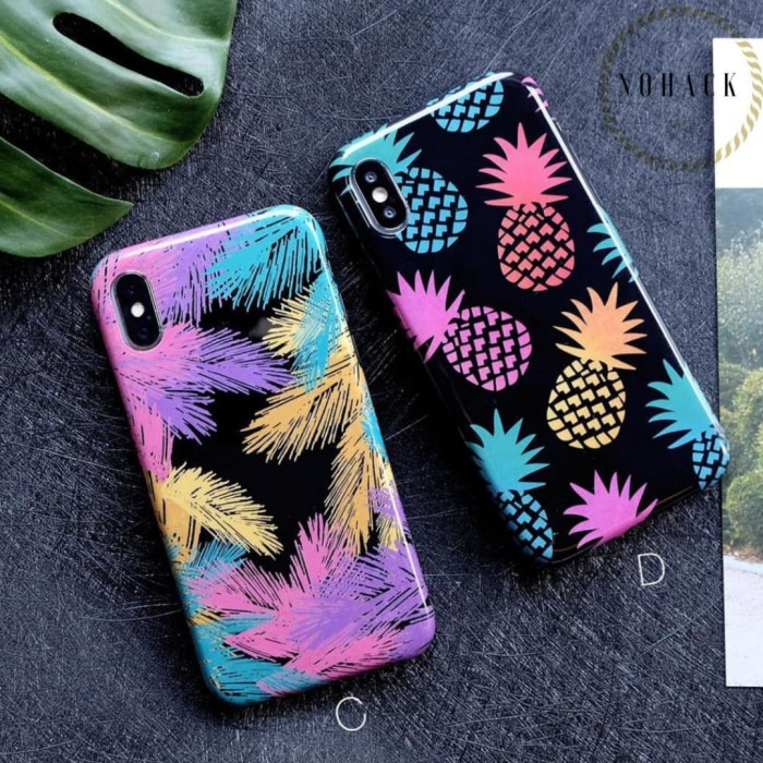 Hawaii Case Iphone 5 5s Se 6 6+ 6s 6s+ 7 7+ 8 8+ Plus X Casing Flower - Tipe A - Blanja.com
