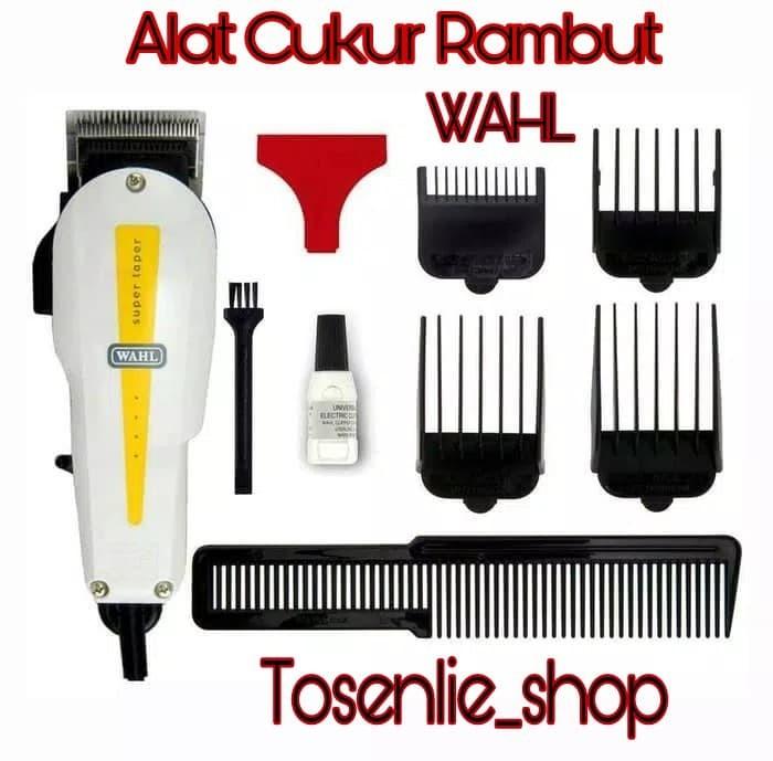 Alat cukur rambut wahl - wahl super taper mesin gunting rambut d5e0400d87