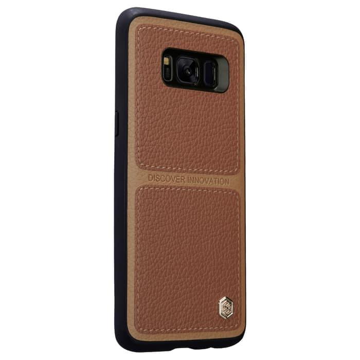 Samsung Galaxy S8 Plus Nillkin Burt Classic Leather Hard Case Cover