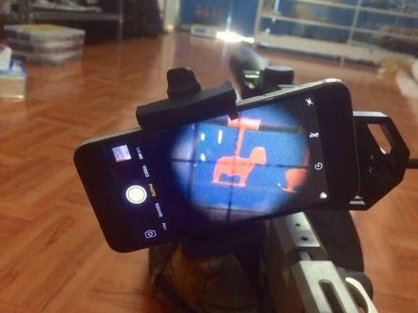Harga universal mounting kamera senapan angin dka camera holder