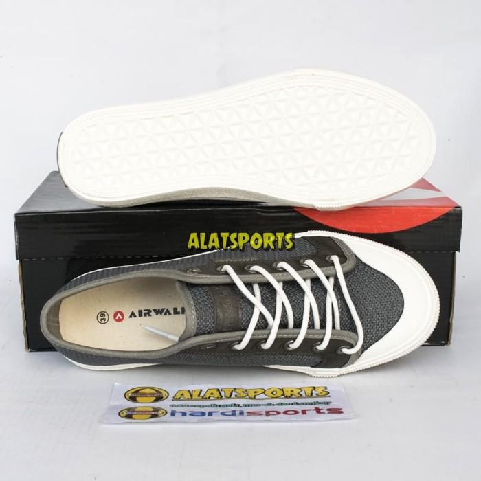 Jual Sepatu Sneaker Pria Airwalk Keon AIW18CM0213G Grey ORIGINAL ... f1ffbc4c41