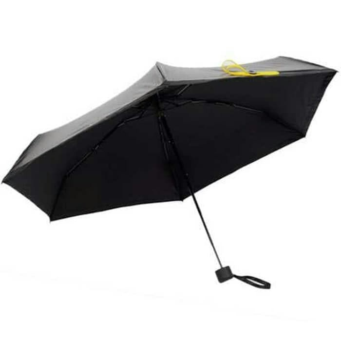 Termurah! payung lipat mini portable - hitam/biru/pink