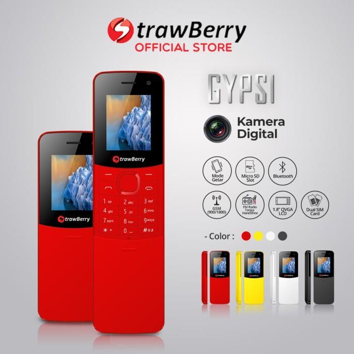 harga [fs] strawberry – gypsi / slider / handphone murah / kamera digital - merah Tokopedia.com