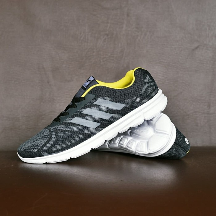 Foto Produk Sepatu Sport Adidas Duramo Running Olahraga Pria Hitam Kuning - ZR 07 dari Lapak Sepatu Sby