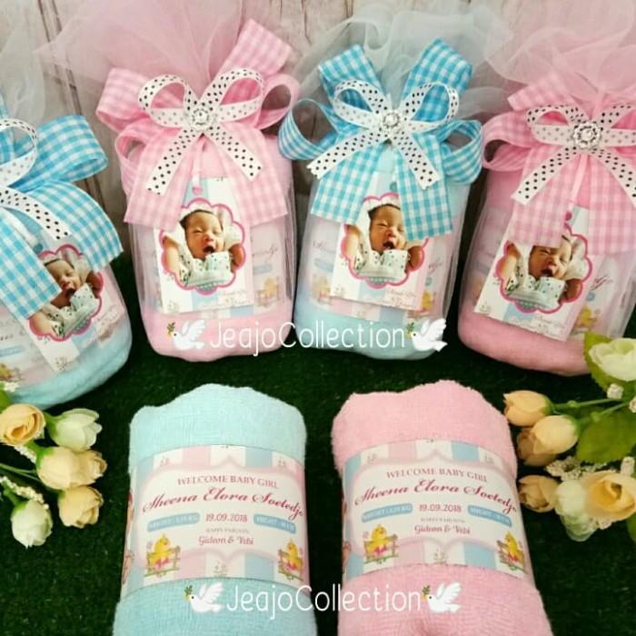 Jual Souvenir Handuk Hampers Baby Manyue Baby One Month Kota Surabaya Jeajo Collection Tokopedia