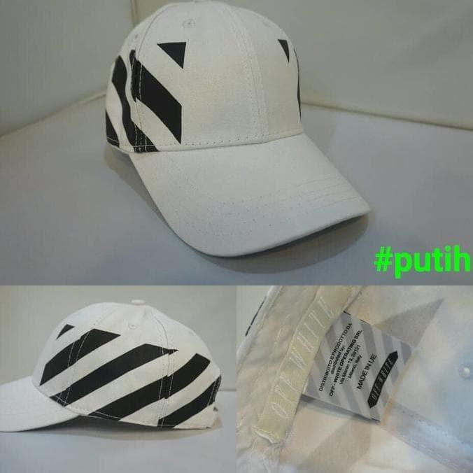 4107294a7f57 Topi Off White C U002Fo Virgil Abloh Black Striped Panel ( Unisex )