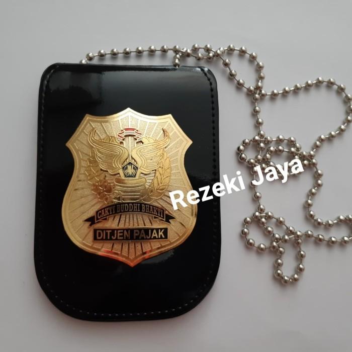 harga Name tag id card dompet kta ditjen pajak plus kalung kwalitas premium Tokopedia.com