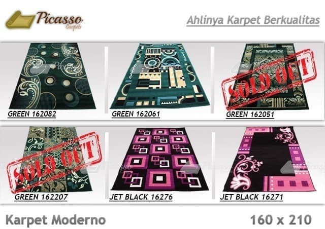 Model Gorden Terbaru 2018 Dan Harganya  jual promo katalog terbaru karpet moderno 160x210 harga termurah jakarta pusat jakarta lapak tirai tokopedia