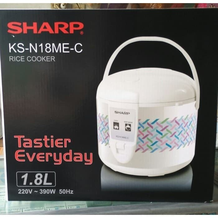 Sharp Magic Com 1,8Liter KS-N18ME-C Penanak Nasi - Prom Limited