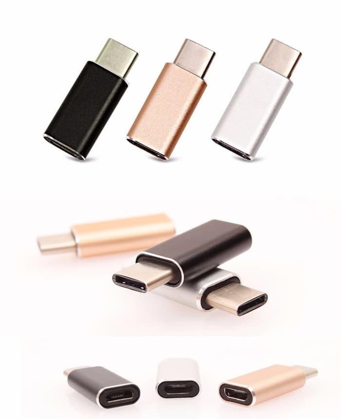 Foto Produk Converter USB 3.1 TYPE C MALE to MICRO USB FEMALE Adap Berkualitas dari 5and1 shop