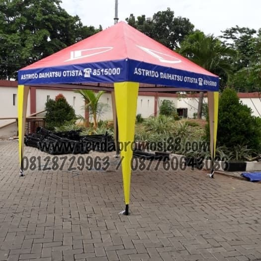 Foto Produk Jual Tenda Piramid / cafe Stand Promosi jakarta dari Berkah Media Promosi