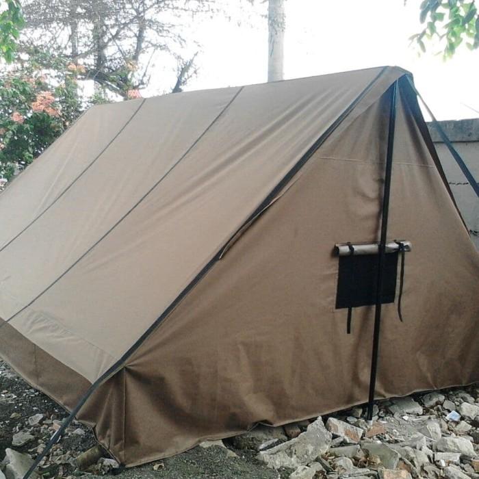 Foto Produk Jual Tenda Kemah Pramuka lengkap praktis ukuran 3x4m dari Berkah Media Promosi