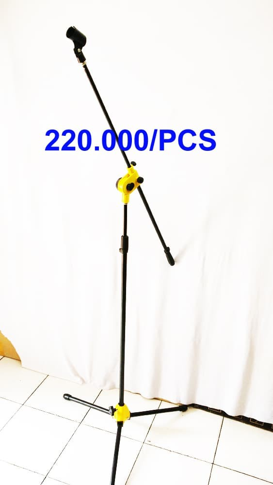 harga Stand microphone full baja Tokopedia.com
