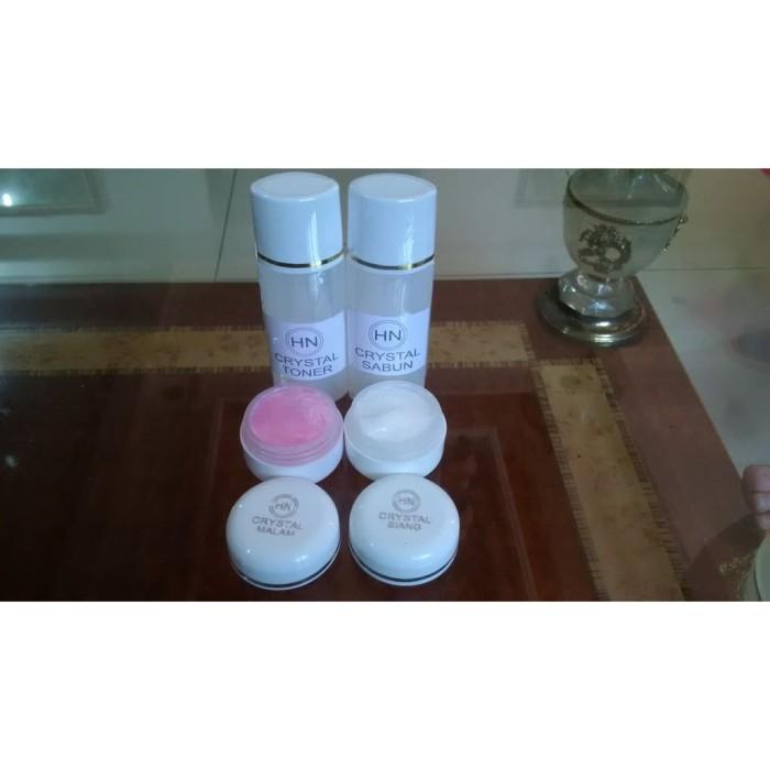 Paket Cream HN CRYSTAL ORIGINAL Kecil 15 gr Krim Pot Emboss Kristal