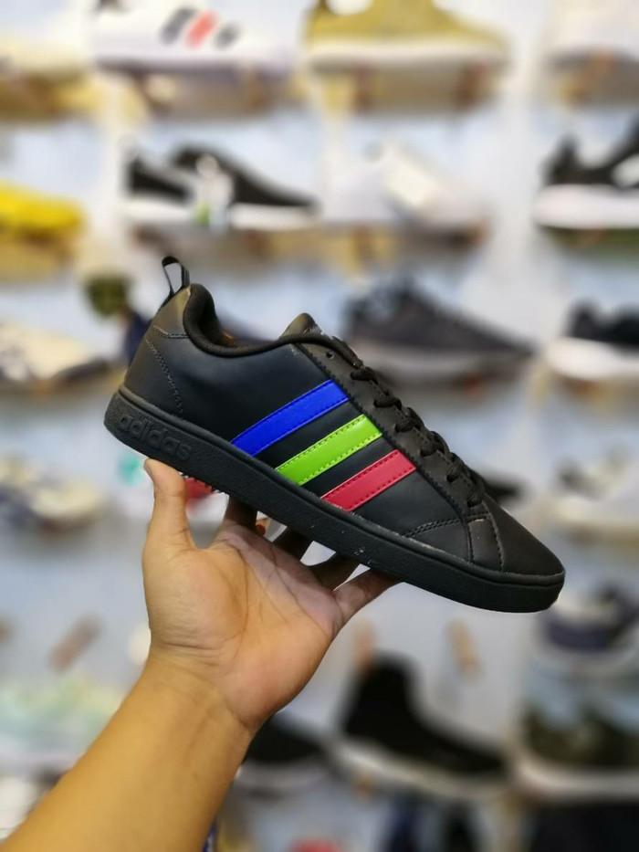 harga Adidas vaseline black tri color sepatu casual running Tokopedia.com