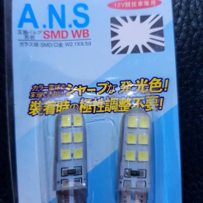 Foto Produk led lampu T10 12led 2835 lampu senja - Putih dari tsjiam tsjiam