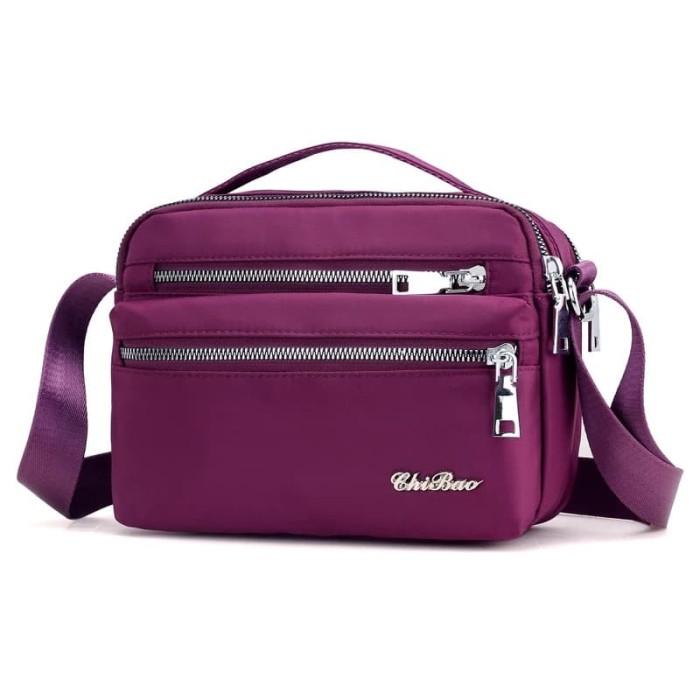 Foto Produk Tas Wanita Import Jinjing dan Selempang CHIBAO Mini CB0717 0717 - Purple dari maju laku