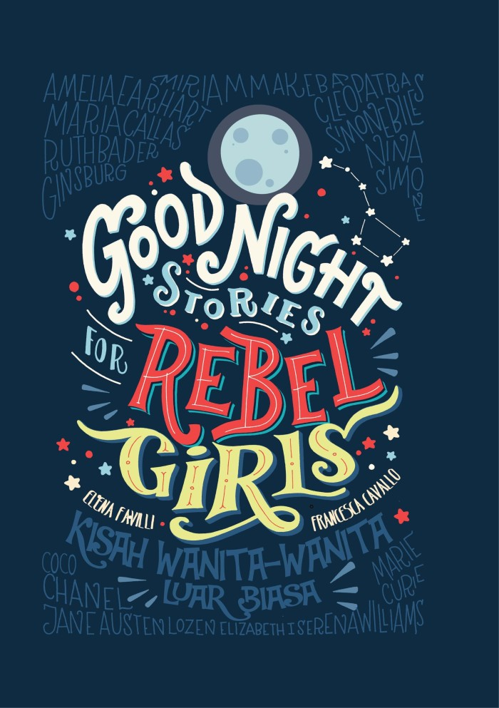BUKU MOTIVASI WANITA GOOD NIGHT STORIES FOR REBEL GIRL