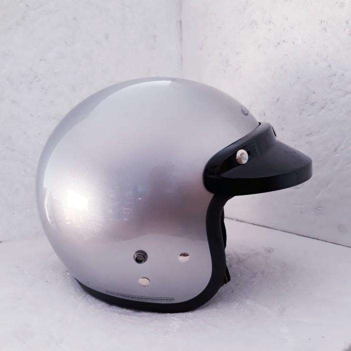 harga Helm cargloss retro silver Tokopedia.com
