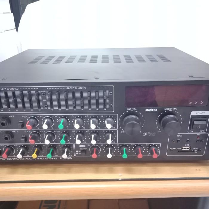 harga Profersional stereo digital echo karaoke mixer power amplifierr Tokopedia.com