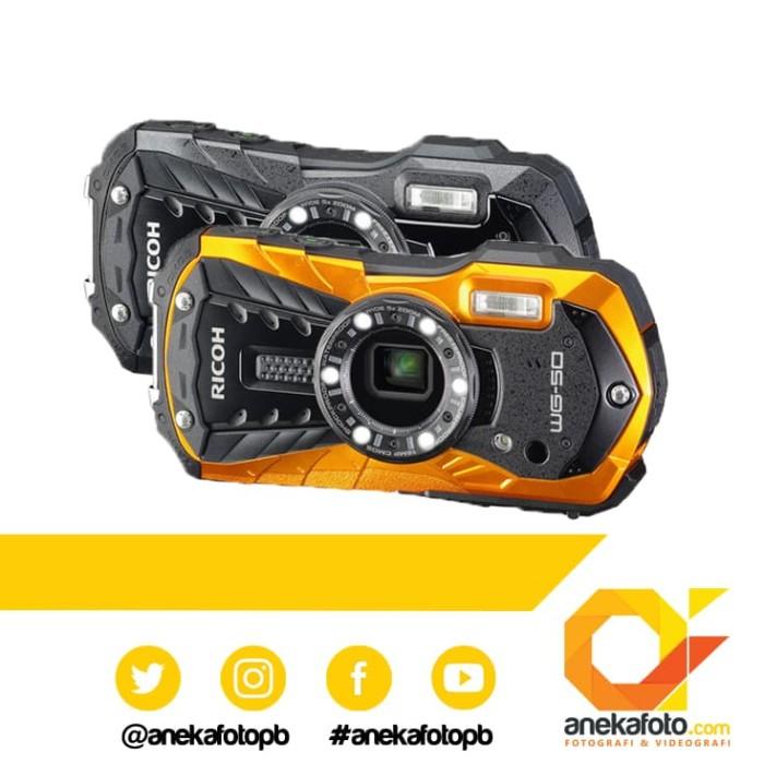 Ricoh WG-50 Digital Camera - Hitam
