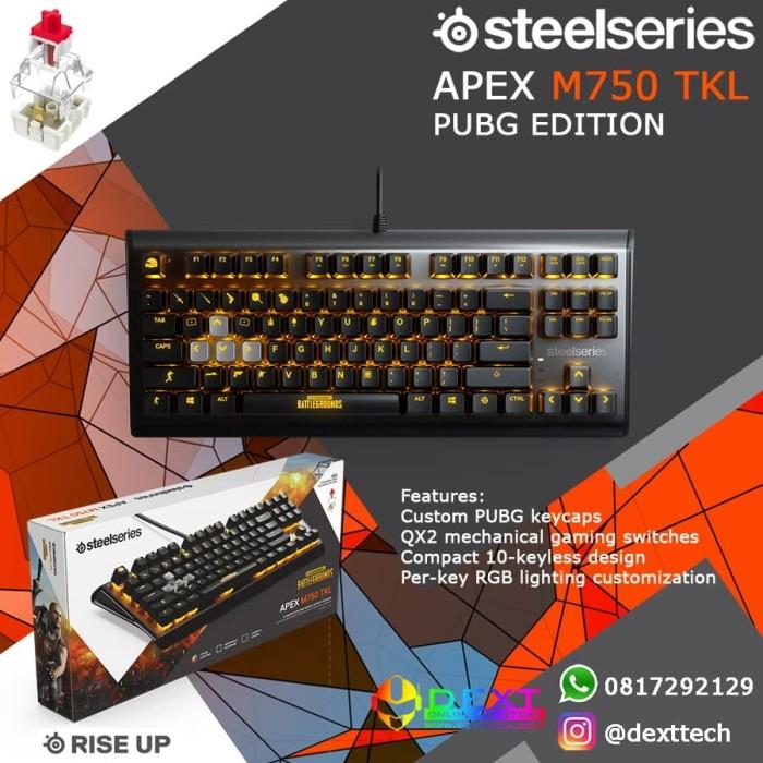 ba40e7022c3 Jual SteelSeries Apex M750 TKL PUBG Edition - DKI Jakarta - DextMall ...