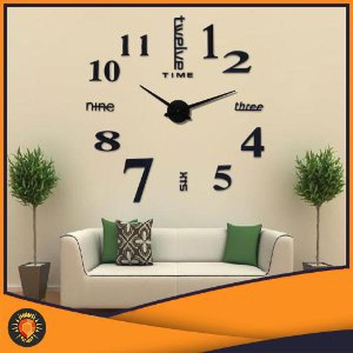 Jual Jam Dinding 3d Minimalis Unik Dan Besar Cocok Untuk Ruang Tamu 26okdaq Dki Jakarta Tatsumi44 Tokopedia