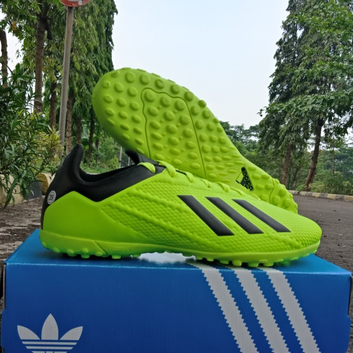 Jual Termurah!! Sepatu Futsal Adidas X Komponen Ori - Hijau muda b1317d953b