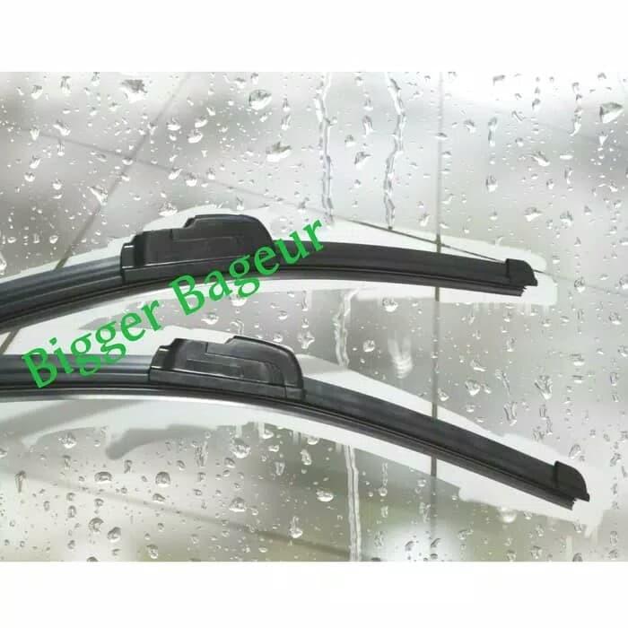 Toyota soluna wiper pisang frame less 18/18 inci