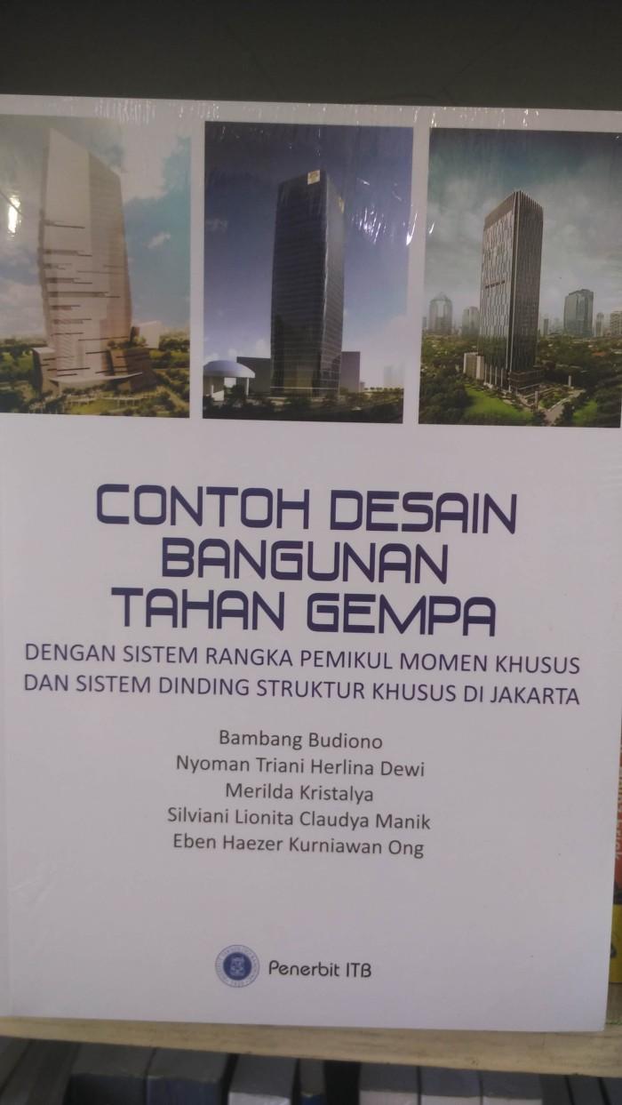 Jual CONTOH DESAIN BANGUNAN TAHAN GEMPA Kota Malang ADOL BUKU
