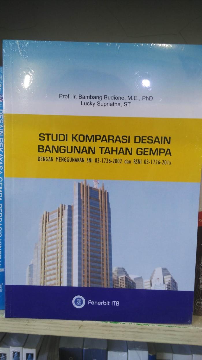 Jual STUDI KOMPARASI DESAIN BANGUNAN TAHAN GEMPA Kota Malang ADOL BUKU