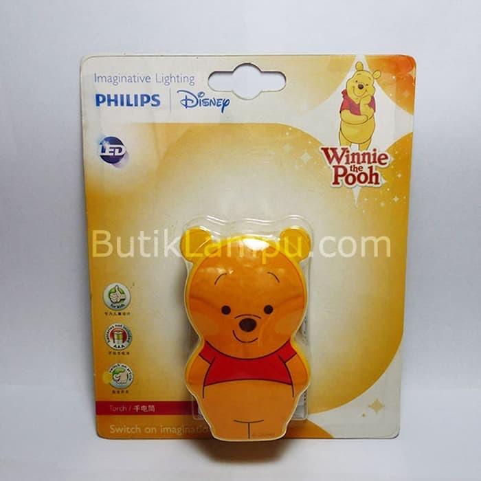 New Lampu Senter Philips Disney LED Winnie The Pooh