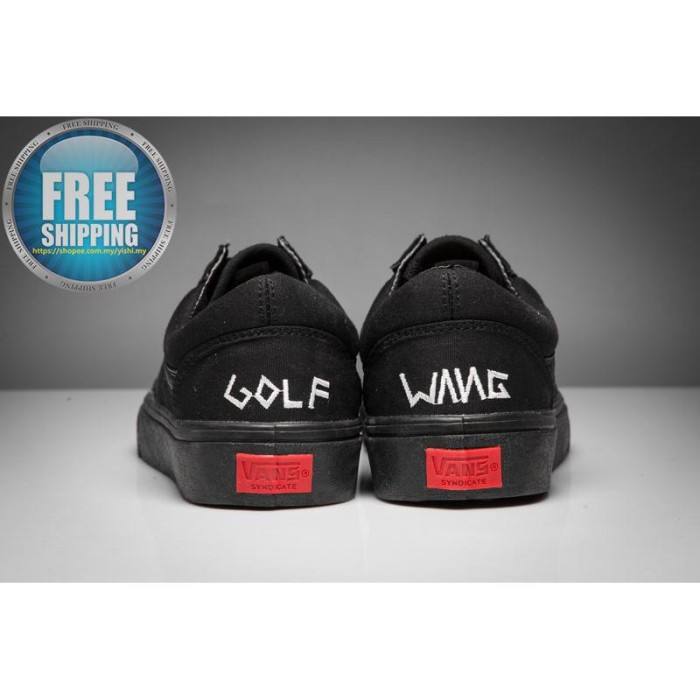 3b290d7e7bf0 Sepatu Sneakers Casual Unisex Model Vans Golf Wang Old Skool Pro Warna