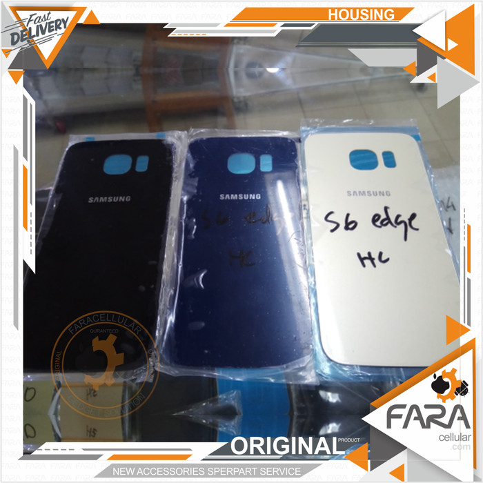 BACKDOOR SAMSUNG GaLAXY S6 EDGE TUTUP BATRE BACK COVER BELAKANG CASING