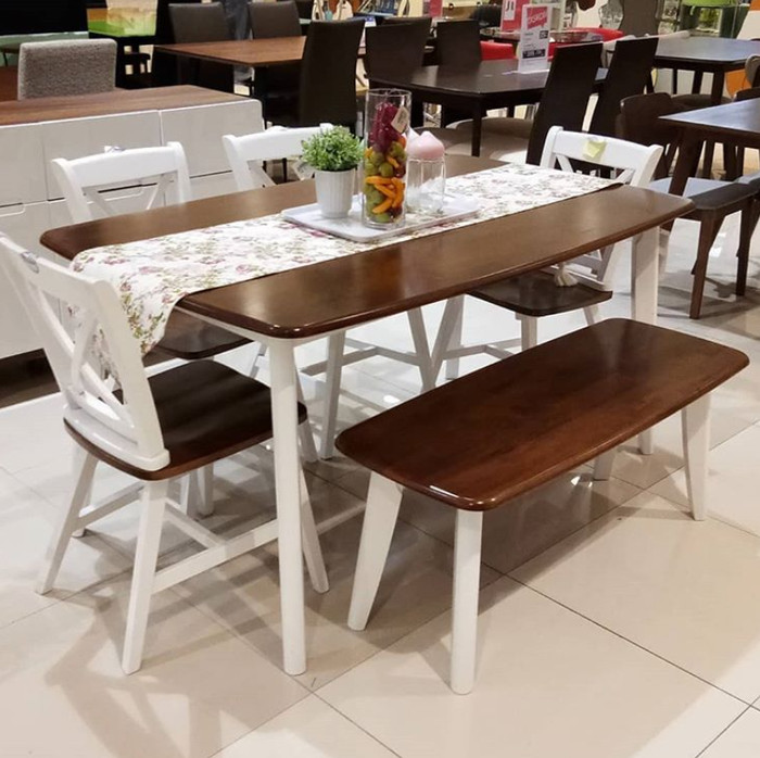 Jual Interior Furniture Yelets Meja Makan Set By Informa Kota Depok Isafashope Tokopedia