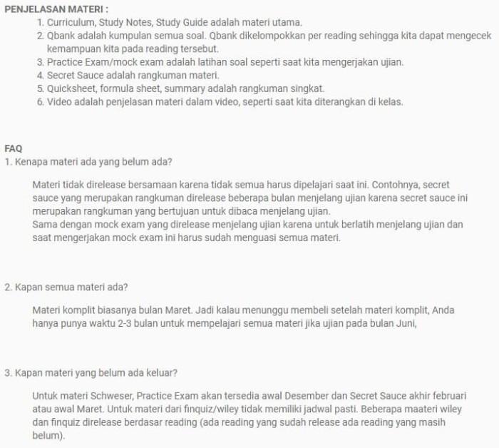 Jual CFA 2019 Level 1 - Paket Komplit - Kota Malang - TRADERLIBRARY |  Tokopedia