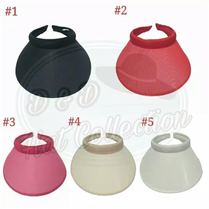 Topi Golf Import Motif Jaring Pelindung Sinar UV Topi Olahraga Outdoor e00e6be736