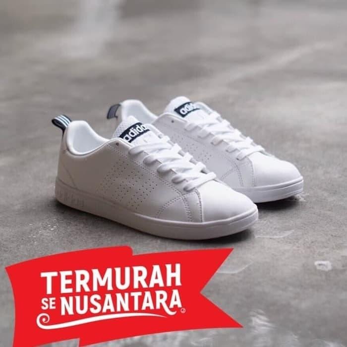 Jual Sepatu Adidas Neo Advantage White Black Strip 100% Original ... 7e7573eb4f