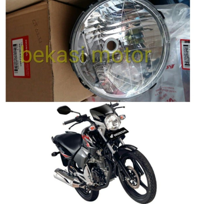 headlamp headlight reflektor lampu depan tiger revo original