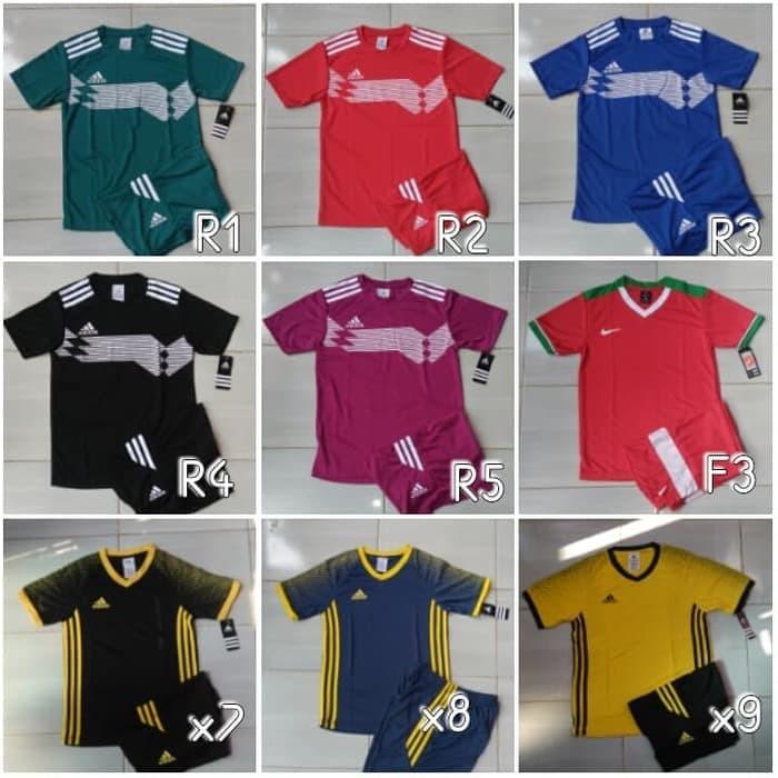 Foto Produk Baju Kaos Futsal/Bola Anak Junior Nike Adidas Puma Stelan dari Agung fata shop