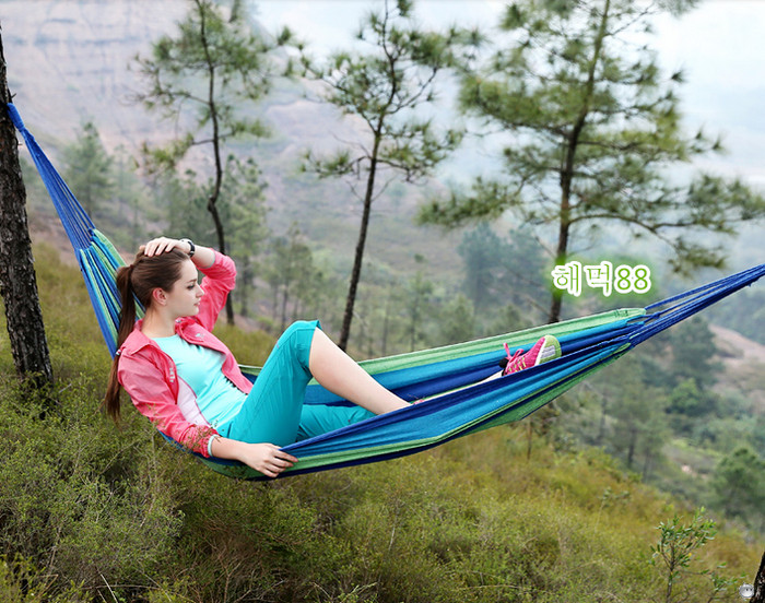 Foto Produk Hammock Colorful Kasur Gantung Camping Single Series dari Agung fata shop