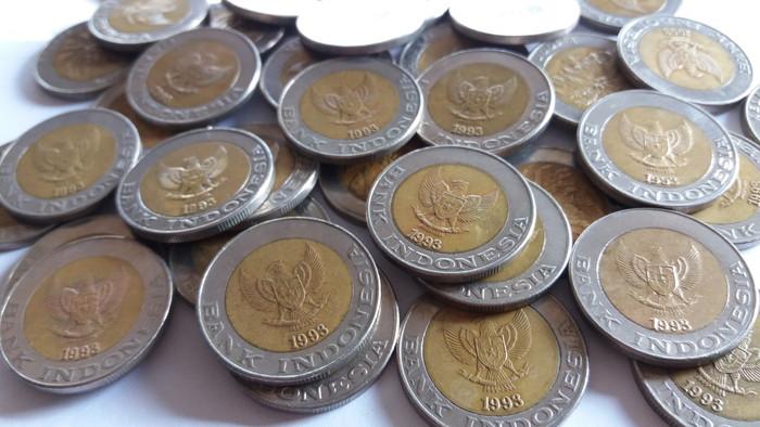 harga Tahun 1993 Uang Lama Kuno Koin Logam 1000 Rupiah Seribu Kelapa Sawit Tokopedia.com