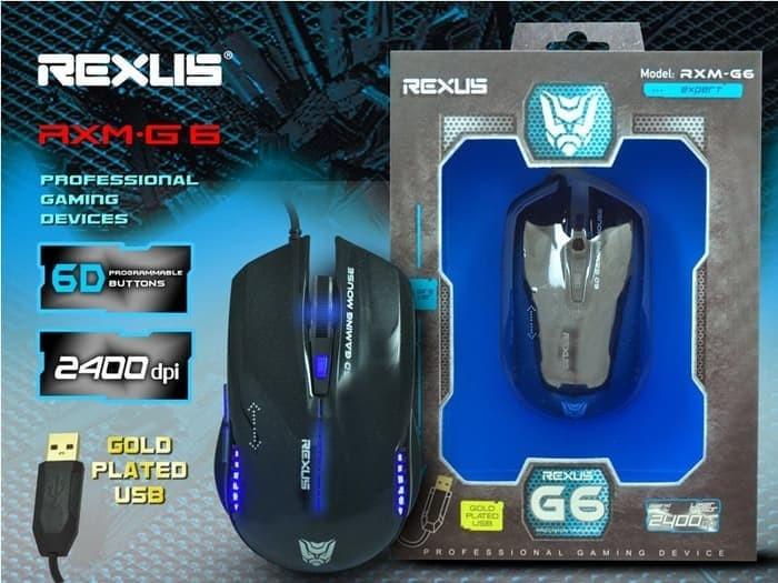 Info Mouse Rexus G6 Travelbon.com