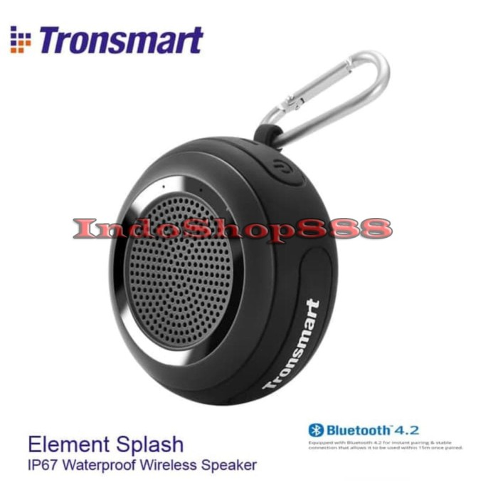 harga Tronsmart element splash ip67 waterproof speaker bluetooth 4.2 mini Tokopedia.com