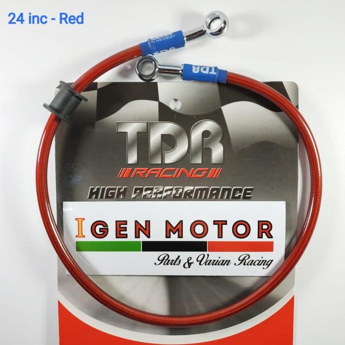 Selang Rem 24 inch Merah - TDR