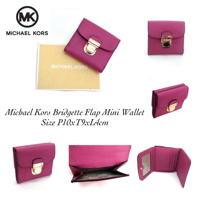 c73ea3c0a3f7 Jual Michael Kors Bridgette Flap Mini Wallet 3 - Authenticworld89 ...
