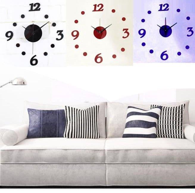 Jual Jam Dinding Diy 360 Jam Unik Kreatif Tanpa Bingkai Dekorasi