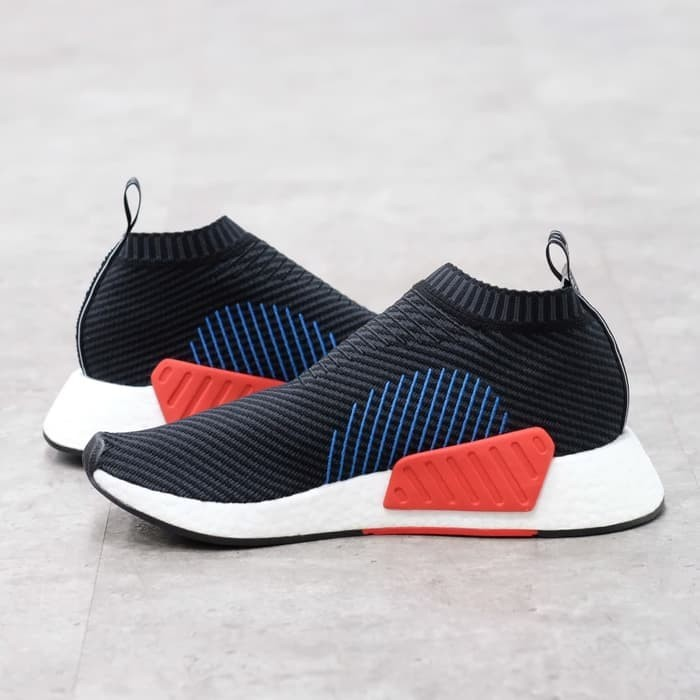 b734bd4f8f17c Jual Adidas NMD CS2 Black Red - DKI Jakarta - shoes com