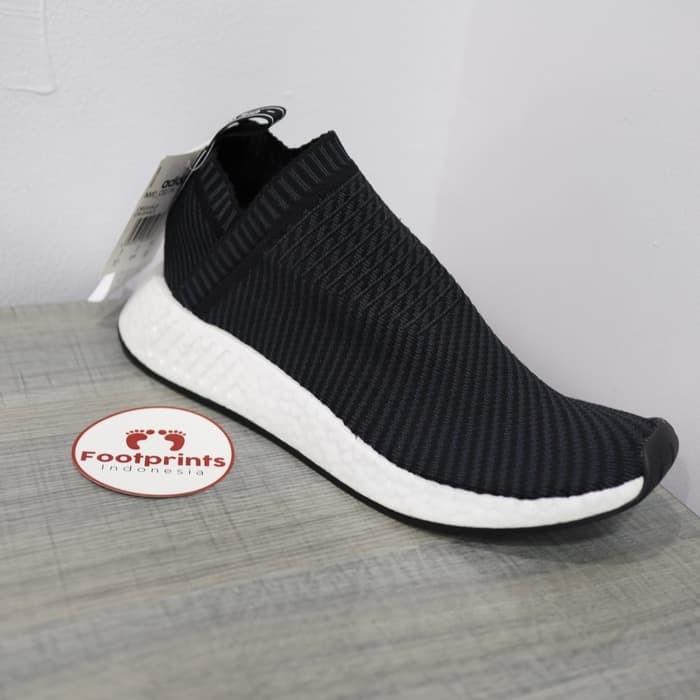 8bcac6fe90aaf Jual Adidas NMD CS2 Black Red Blue Bred City Sock 100% Original ...